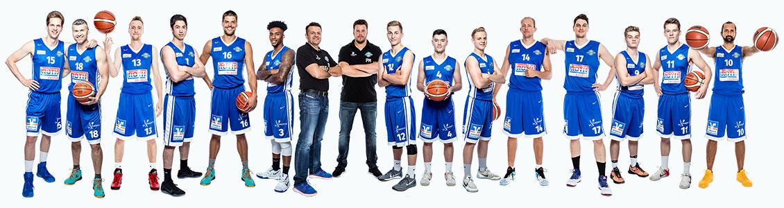 Giessen Pointers Teamfoto Saison 2017/2018